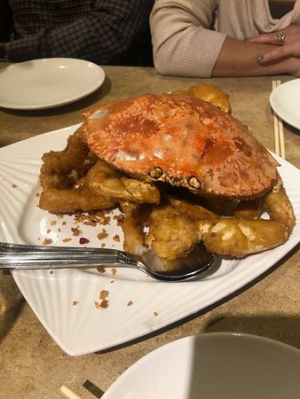 Crab- I would love to eat this again and again!
