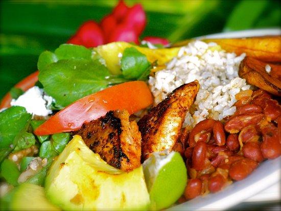 Jungle Bay Dominica: Organic local cuisine