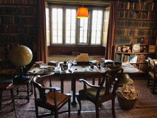 Burwash, UK: Kipling's study