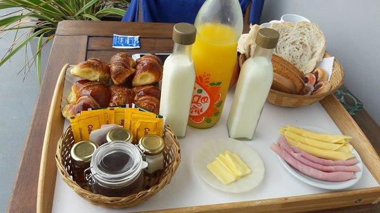 Riviera del Sur: desayuno