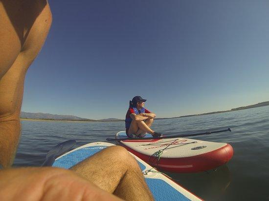 Guijo de Granadilla, Spain: Paddle Surf en el Embalse de Gabriel y Galán, aunque también nos desplazamos a otros sitios, pregúntanos!
