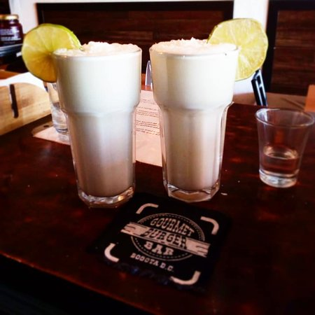 The super refreshing Limonada de Coco.