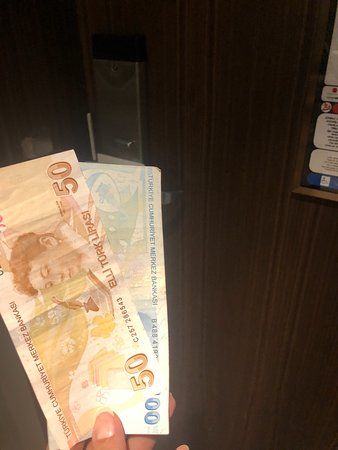 It not possible!! It's 12:25 am Someone from the reception calling telling me that the driver came back to collect his money 110 lira + 40 lira because he came back !!  Now they immediately sent someone to my room to collect it.. he deserve his money yet I paid for something I didn't receive! And I paid extra money because they don't send anyone in the first time to collect it