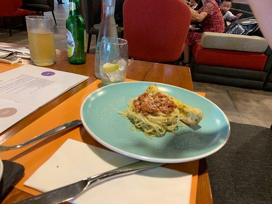 Novotel Bali Ngurah Rai Airport: Kids Spaghetti Bolognese