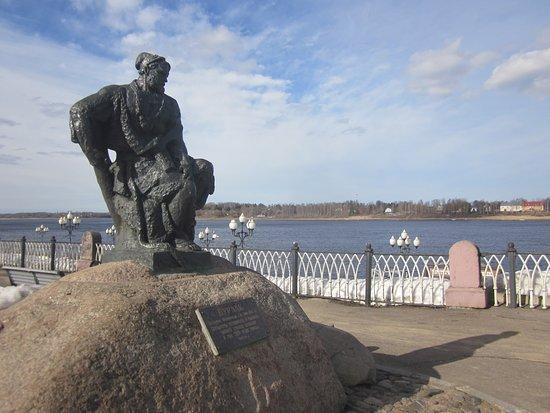Бурлак в Рыбинске