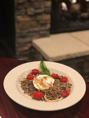 Bruch- quinoa breakfast bowl