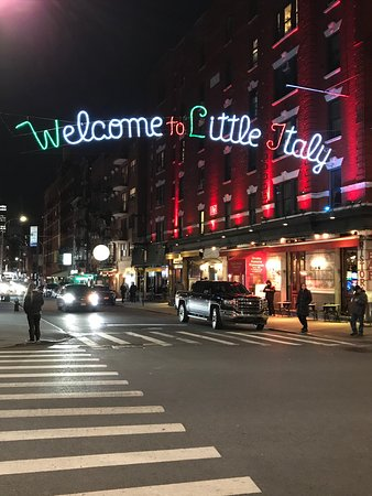 Little italy york book online