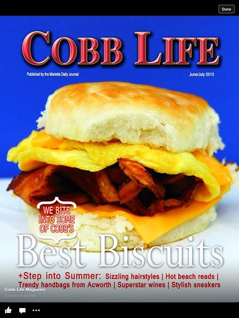 Featured In Cobb Life Magazine For Best Biscuits In Cobb County Picture Of Daddys Country Kitchen Acworth Tripadvisor