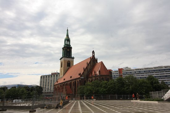 Berlin, Jerman: Ракурс с юго-востока.