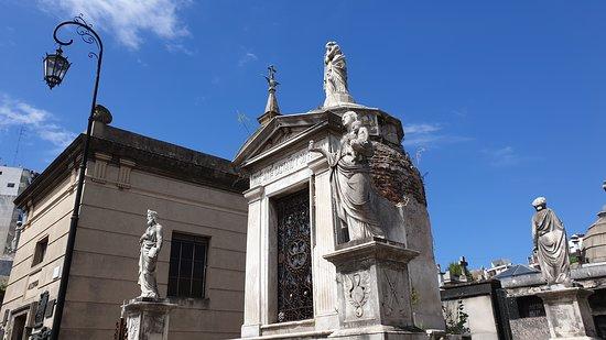 Cemiterio de Recoleta: Cementerio.