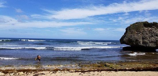 Beautiful Bathsheba Beach