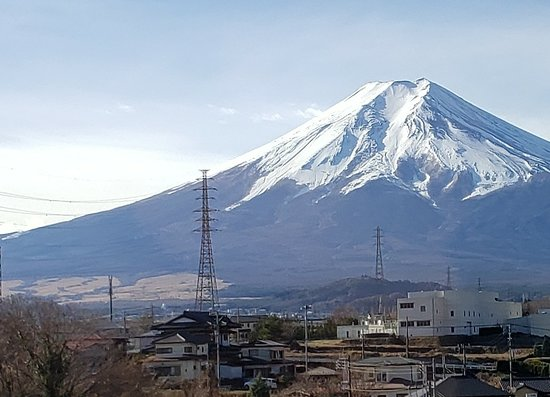 Mt Fuji, Hakone, Lake Ashi Cruise and Bullet Train Day Trip from Tokyo: View of Mt Fuji from bus during ride up there
