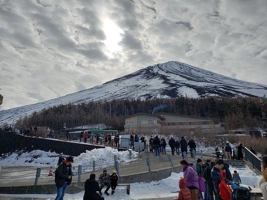 Mt Fuji, Hakone, Lake Ashi Cruise and Bullet Train Day Trip from Tokyo: Tour stop on Mt. Fuji