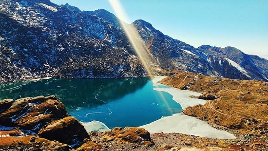 With Shivaratri around the corner, we cannot simply ignore the amusing trek to the holy lake of Gosaikunda. Gosaikunda Trek also offers a chance for the trekkers to learn Tamang culture while trekking through the villages of Langtang valley which were hugely affected by the earthquake of April 2015. Trekking in the Langtang National Park also provides the distinct opportunity to come across the endangered red pandas along with musk deer, Himalayan tahr and more than 250 species of birds.
