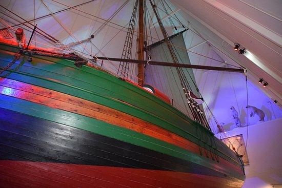 The Gjoa ship