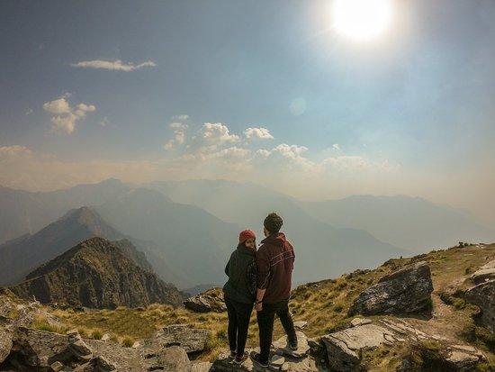 Chopta, India: At Chadrashila Peak after a long trek!