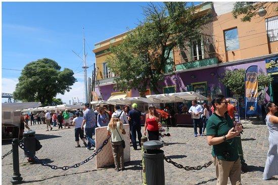 La Boca: Lo Boca's square