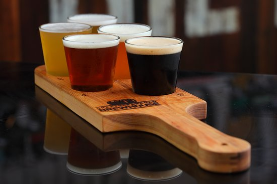 Beer Paddle to try our local beer