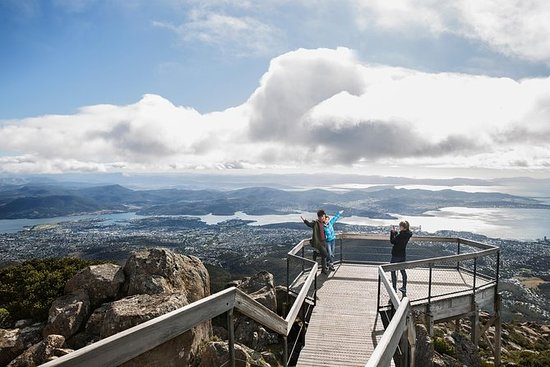 Día TWTT Tour: Hobart Mt Wellington...
