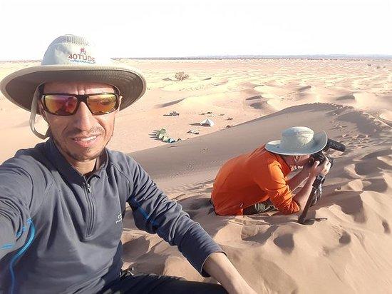 Viajar para o deserto de Marrocos
