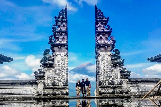 Portão de Bali do céu
