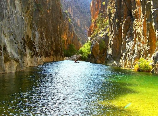 Aydin Province, Turkey: This is a must see category canyon which is called Arapasti in Turkey. It is located in Bozdogan, Aydin.
