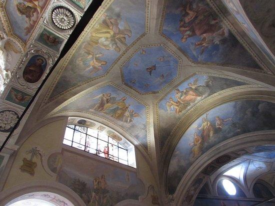 Eremo di S. Caterina del Sasso: Altro affresco della Chiesa