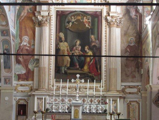 Eremo di S. Caterina del Sasso: Affresco