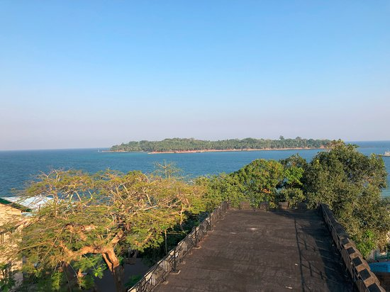 Cellular Jail: View from top of Jail
