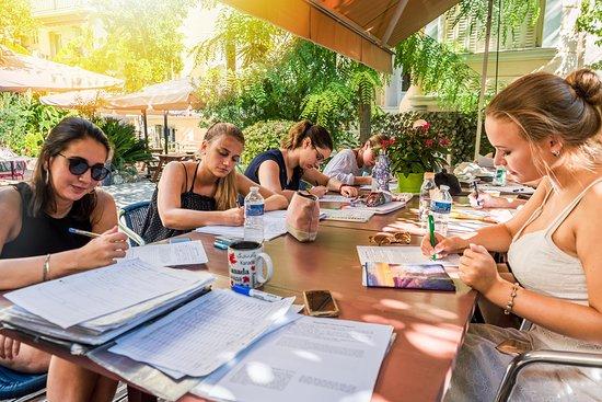 Azurlingua, école de langues Nice, France