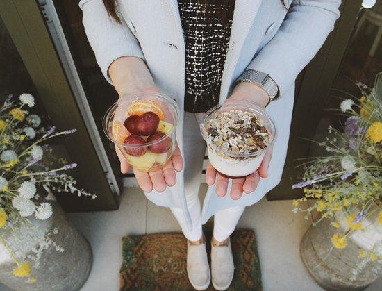 Cafeliz: Healthy options
