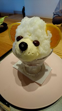 冬のしろくま(ミルク味)