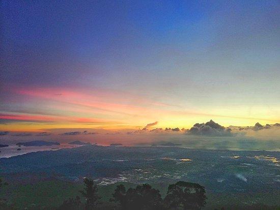 Sunset at Gunung Raya