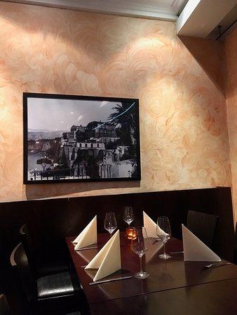 Restaurant OLIVE & OREGANO: Greek inspired Decor.