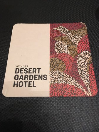 Desert Gardens Hotel, Ayers Rock Resort: Look for the sign
