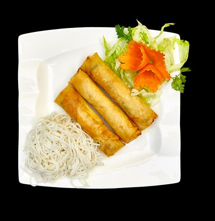 vegan spring roll