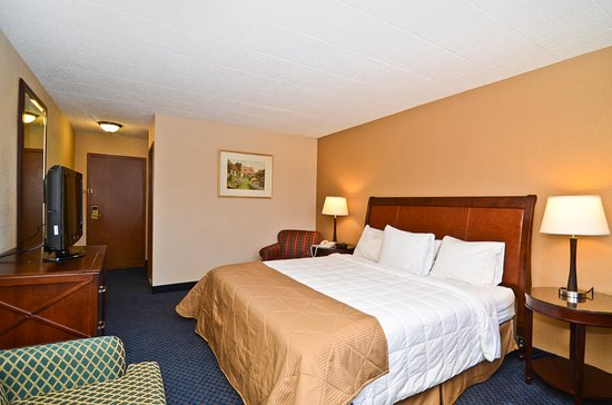 Pocono Mountains Region, PA: Deluxe Room, 1 King Bed with Sofa bed, Non Smoking - 325SFT