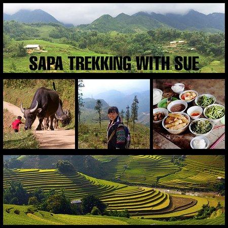 SaPa Trekking With Sue
