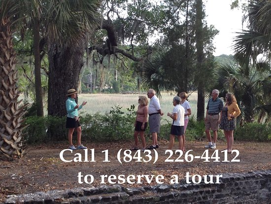 Beaufort, SC: Call 1 (843) 226-4412 to reserve a tour