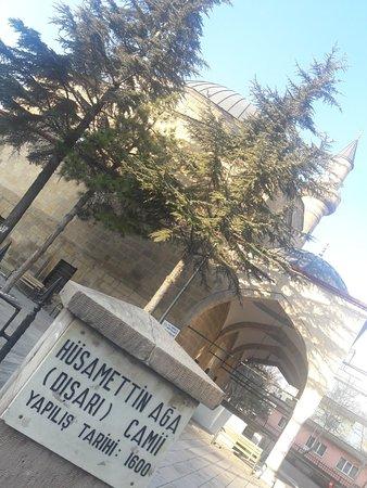 DIsari cami: Hüsamettin Ağa Camiii