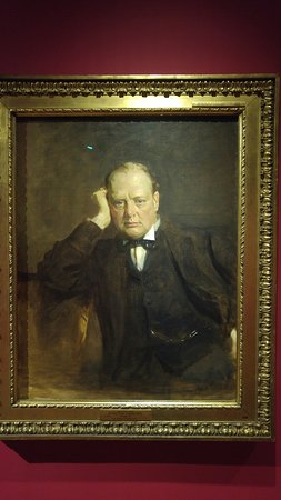 Scottish National Portrait Gallery: Winston Churchill by Sir James Guthrie