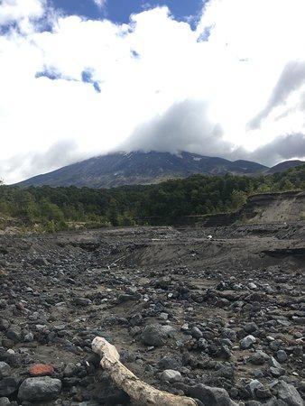 Parque Nacional Vicente Perez Rosales, Chile: Lava flow
