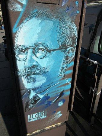 Fresque Paul Langevin
