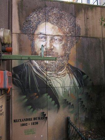 Fresque Alexandre Dumas