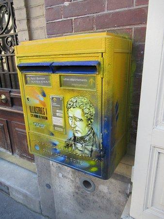 Fresque Louis Braille
