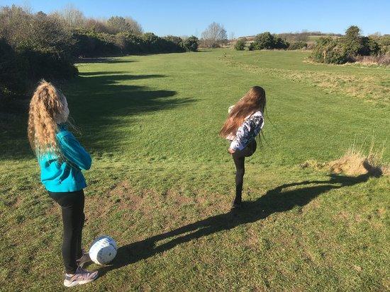 Brighton and Hove, UK: Brighton Footgolf