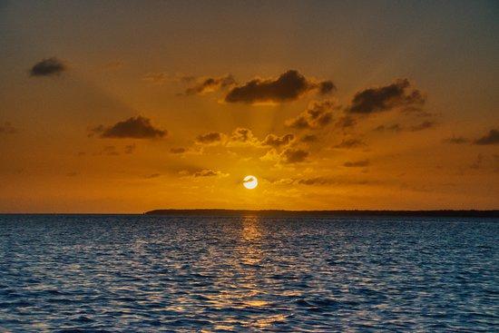 NautiLimo: Beautiful Keys sunset