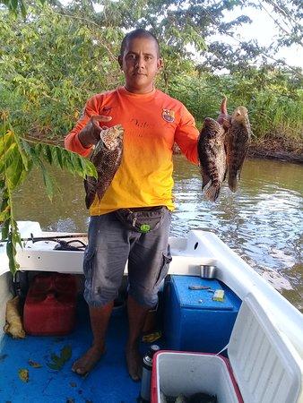 Cano Negro, Kostarika: Podras disfrutar de un día de pesca en las inponentes aguas de nuestra reserva