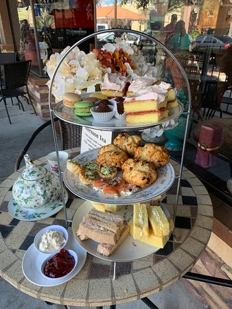 The Attic Door Wine Bar and Tea Room: Now offering an Afternoon Tea Room on the weekends by reservation