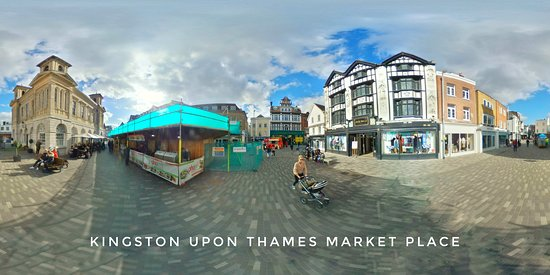 Historic Market Place of Kingston upon Thames.